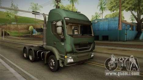 Iveco Trakker Hi-Land 6x4 Cab High v3.0 for GTA San Andreas