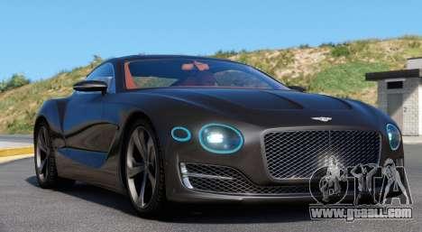 Bentley EXP 10 Speed 6 for GTA 5