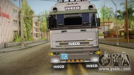 Iveco Eurotech 400E34 Tandem v2.0 for GTA San Andreas back view