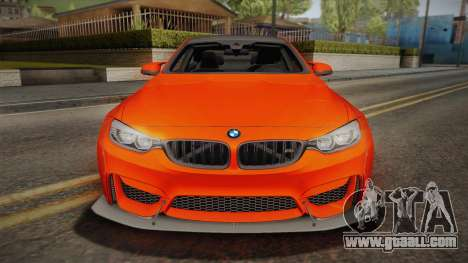 BMW M4 LB Performance for GTA San Andreas right view