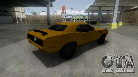 1971 Plymouth Hemi Cuda 426 for GTA San Andreas left view