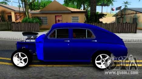 GAZ M20 Pobeda for GTA San Andreas left view