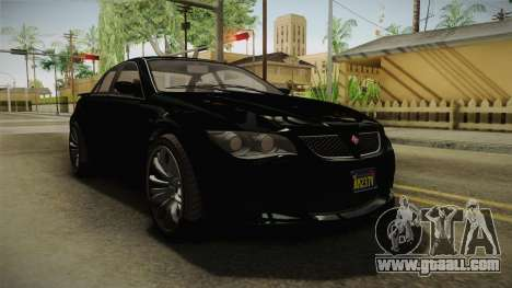 GTA 5 Ubermacht Sentinel Sedan for GTA San Andreas