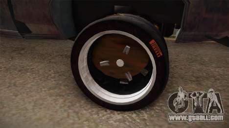 Ford Gran Torino Mad Max for GTA San Andreas back view