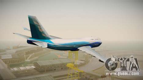 Boeing 747-400 House for GTA San Andreas right view