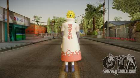 Minato Hokage Outfit for GTA San Andreas third screenshot