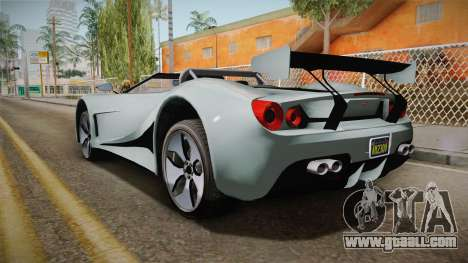 GTA 5 Vapid FMJ Roadster for GTA San Andreas left view