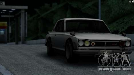 Nissan Skyline 3100 GT-Kai for GTA San Andreas left view