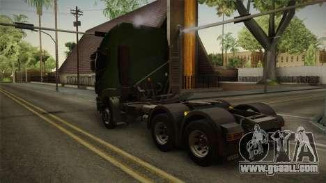 Iveco Trakker Hi-Land 6x4 Cab High v3.0 for GTA San Andreas left view
