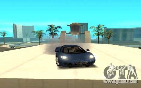 McLaren for GTA San Andreas