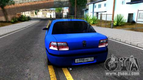 Opel Omega B 1998 for GTA San Andreas back left view