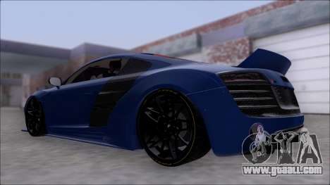 Audi R8 5.2 V10 Plus LB Walk V2.0 for GTA San Andreas