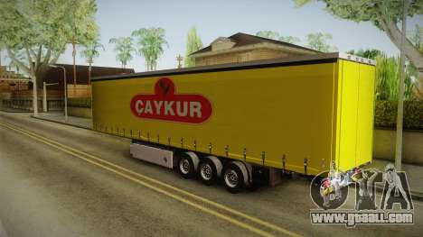 Caykur Trailer for GTA San Andreas left view