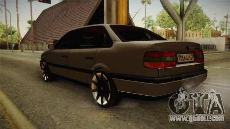 Volkswagen Passat B4 2.0 for GTA San Andreas back left view