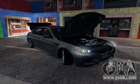 BMW-M5 for GTA San Andreas right view