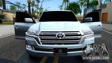 Toyota Land Cruiser 200 2016 PML Edition for GTA San Andreas inner view