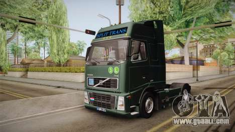 Volvo FH12 for GTA San Andreas right view