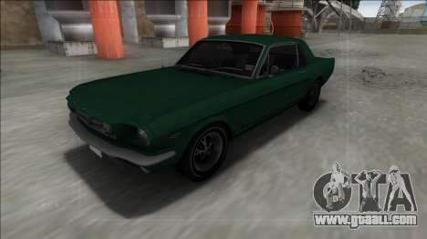 1965 Ford Mustang for GTA San Andreas right view