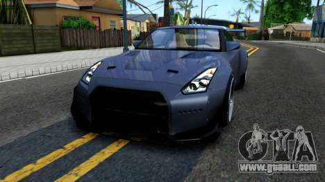 Nissan GT-R35 Rocket Bunny for GTA San Andreas