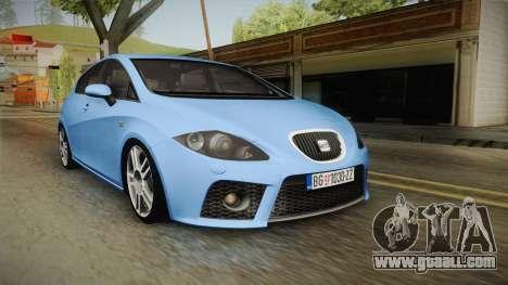 Seat Leon Cupra for GTA San Andreas