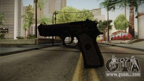 CoD 4: MW - Beretta M9 Remastered for GTA San Andreas
