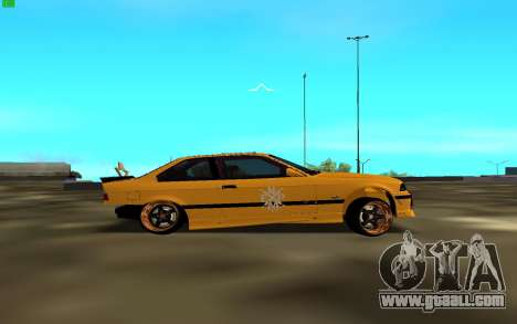 BMW 3 Series E36 for GTA San Andreas left view