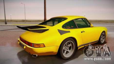 RUF CTR Yellowbird (911 930) 1987 for GTA San Andreas left view