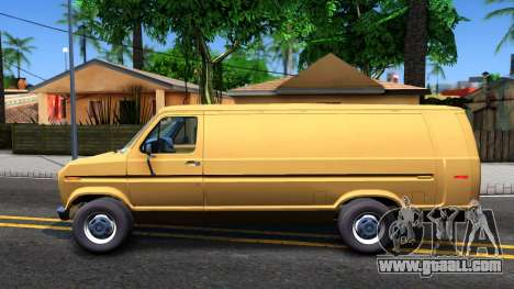 Ford E-250 Extended Van 1979 for GTA San Andreas left view