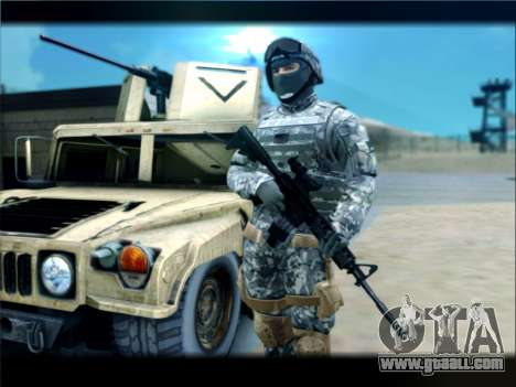 New Military USA Skin for GTA San Andreas