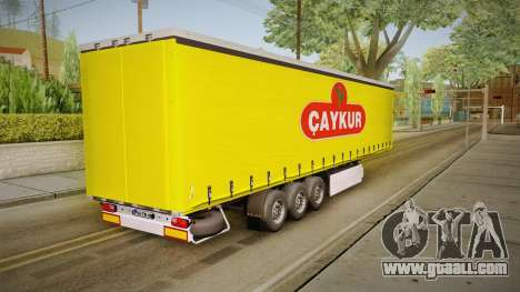 Caykur Trailer for GTA San Andreas right view