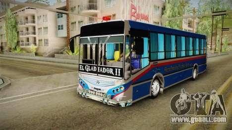 Metalpar Tronador 2 EL GLADIADOR for GTA San Andreas back left view