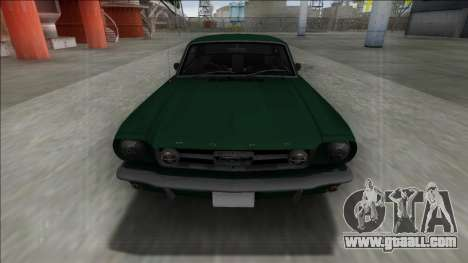 1965 Ford Mustang for GTA San Andreas back view