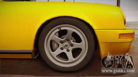 RUF CTR Yellowbird (911 930) 1987 for GTA San Andreas back view
