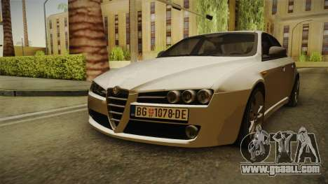 Alfa Romeo 159 for GTA San Andreas right view