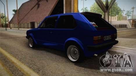 Volkswagen Golf Mk1 for GTA San Andreas left view