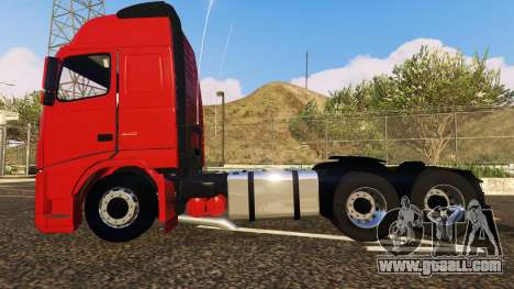 GTA 5 VOLVO FH left side view