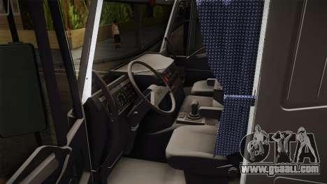 Iveco Eurotech 400E34 Tandem v2.0 for GTA San Andreas inner view
