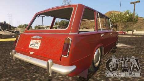 GTA 5 VAZ-2102 rear left side view