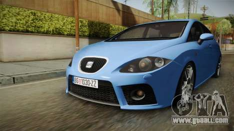 Seat Leon Cupra for GTA San Andreas