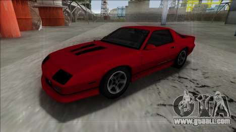 1990 Chevrolet Camaro IROC-Z for GTA San Andreas right view