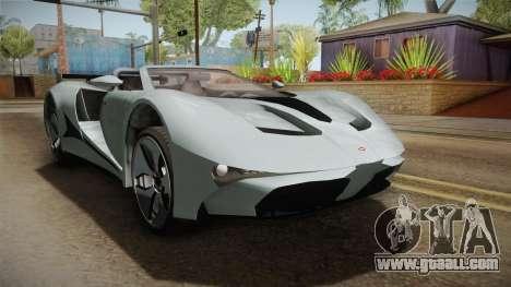 GTA 5 Vapid FMJ Roadster for GTA San Andreas right view