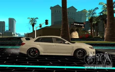 Subaru WRX STI for GTA San Andreas left view