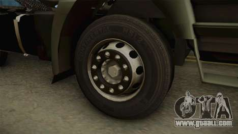 Iveco Trakker Hi-Land 6x4 Cab High v3.0 for GTA San Andreas back view