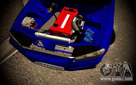 Nissan Skyline HR 34 for GTA San Andreas upper view