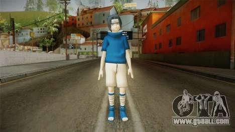 NUNS4 - Sasuke Genin Normal Eyes for GTA San Andreas second screenshot