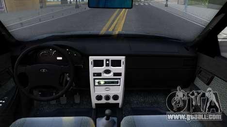 VAZ 2170 V3 for GTA San Andreas inner view