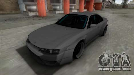 Nissan Silvia S14 Drift for GTA San Andreas back left view