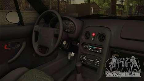 Mazda MX-5 1994 for GTA San Andreas inner view