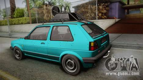 Volkswagen Golf Mk2 1991 for GTA San Andreas left view