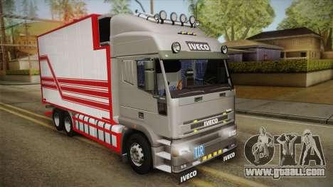 Iveco Eurotech 400E34 Tandem v2.0 for GTA San Andreas
